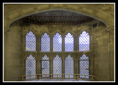 Great Hall Stairs Window (veggiesosage) Tags: nottinghamshire southwell bishopspalace sigma1020mmf456dc aficionados hdr gx20 grade1listed