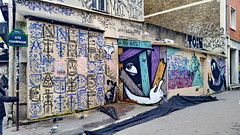 403 Paris en Février 2018 - Cité Champagne, rue des Pyrénées (paspog) Tags: paris france février februar february 2018 citéchampagne ruedespyrénées tags graffitis fresque fresques mural murals
