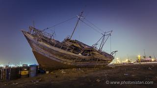 Deserted Ship Wreck