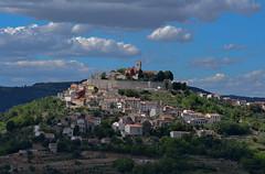 Motovun Istria (Rocacidi) Tags: motovun istria sky hill croatia clouds blue