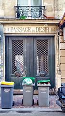 431 Paris en Février 2018 - rue du Faubourg Saint-Denis, le Passage du Désir est encombré (paspog) Tags: paris france février februar february 2018 passage passagedudésir