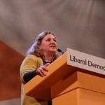 A Liberal Democrat Member speaking at Conference Rally thumbnail