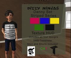 Dizzy Ninjas New Releases! (zonagrace) Tags: dizzy ninjas second life unisex boys outfits