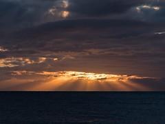 Sunset chaos. (JKBfoto) Tags: orange gulfofmexico ocean travel beach seascape sky dramatic clouds sunset