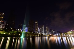 Otherside (sbsrodman) Tags: colours yellow orange purple dorado gold verde green 10mm nikond5300 nikon largaexposición longexposure méxico cdmx ciudad city lago agua lake water light luz
