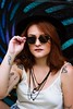 (Raquel Reis Fotografia) Tags: girl redhead ruiva becodobatman graffiti art photoshoot