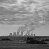 # (alex//b) Tags: 2018 tagebau mining landscape landschaft sachsen saxony nochten boxberg power plant kraftwerk schwarzweis sw blackwhite bw