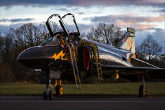 McDonnell Douglas F-4K Phantom FG1 - 18 (NickJ 1972) Tags: raf cosford photoshoot photocall photo shoot night nightshoot threshold aero aviation 2018 mcdonnelldouglas f4 phantom fg1 xv582 m blackmike bpag