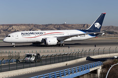 N783AM Aeromexico B787-8 Dreamliner Madrid Barajas (Vanquish-Photography) Tags: n783am aeromexico b7878 dreamliner madrid barajas lemd mad madridbarajas madridbarajasairport madridairport barajasairport vanquish photography vanquishphotography ryan taylor ryantaylor aviation railway canon eos 7d 6d 80d aeroplane train spotting