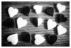 (hammer.adrienn) Tags: youme love bw black white heart sweet