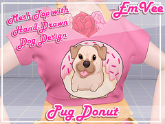 [EmVee] Sweet Pups (Magnus Vale) Tags: secondlife second life emvee magnusvale magnus vale cute kawaii dog pup pups puppies dogs donut sweets dessert desert new release art marketplace