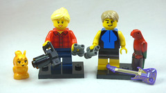 Brick Yourself Custom Lego Figure Birdwatching Couple
