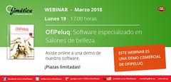 Webinar OfiPeluq (ofisoftware) Tags: software ofimatica peluquerias esteticas gestion webinar ofipeluq