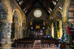 castles and mountains-31 (Claire Quinn) Tags: saintconanskirk church kirk