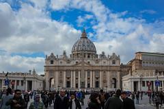 Petersdom (Markus Wollny) Tags: city vatikan rom roma lazio italien it