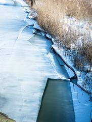 20180304-038 (sulamith.sallmann) Tags: gewässer wetter bach deutschland eisig gefroren germany mecklenburgvorpommern saal schnee snow wasser waters weather winter sulamithsallmann