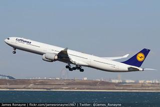 D-AIHB   Airbus A340-642   Lufthansa