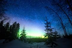 IMG_0068-Edit-2 (Marko Pennanen) Tags: auroraborealis joensuu linnunrata lumi milkyway night nightphotography nightsky northernlights revontuli snow talvi tähdet tähtitaivas vekaruksenulkoilualue vekarus winter