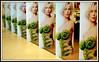 serie (Jan Herremans) Tags: belgium publicity supermarket woman swimwear