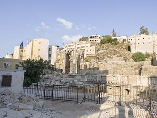 El Ninfeo Romano, Amán, Jordania