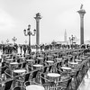 You usually have to wait for that which is worth waiting for. Craig Bruce (druzi) Tags: blackandwhite monocromatico monochrome tables view venice bnw chairs rain winter lampioni tavolini bar sedie ordine symmetries simmetrie precision composition square lamppost