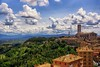 Clouds over Perugia (jo.misere) Tags: perugia umbrie colors kleuren italie wolken clouds bergen mountains