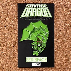 Repost @eerie_face ・・・ 🐲PIN DROP🐲 LIMITED Savage Dragon, 2 inch enamel pin now available! Limited to 100. Numbered with raised logo back stamp. Don't let this SAVAGE on get away from you. Shop link in bio👆👆:po (The Coma King) Tags: squadlit pin pins enamelpins enamelpin lapelpin lapelpins pingame pinlife patchgame hatpin hatpins pingamestrong pingameproper pinnation hatpinsforsale