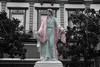 Le dieu rhabillé (hans pohl) Tags: espagne andalousie cadix statues art noiretblanccoloré blackandwhite recoloured