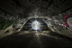 North Star (Gopostal1) Tags: led lenser lightpainting sewer
