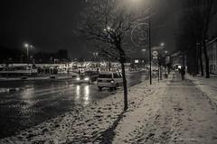 Zabrze (nightmareck) Tags: zabrze śląskie górnyśląsk silesia polska poland europa europe winter zima fujifilm fuji fujixe1 fujifilmxe1 xe1 apsc xtrans xmount mirrorless bezlusterkowiec xf18mm xf18mmf20r fujinon pancakelens monochrome
