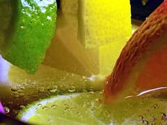 """""""Citrus"""" Refreshing (marieschubert1) Tags: """"citrus"""" orange lemon lime fruit water cold """"macro mondays"""" refreshing"""