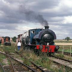 """Byfield No. 2"" at Toddington (1) (lewispix) Tags: bagnall 060st byfield steam railway"