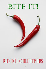 RHCP (thor_thomsen) Tags: red chilli peppers food spicy studio tabletop white green