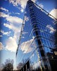 the beauty of nature and modern buildings (EdGingell) Tags: london architecture sky clouds reflection perspective