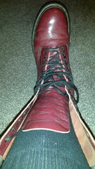 20170923_084309 (rugby#9) Tags: drmartens boots icon size 7 eyelets doc docs doctormarten martens air wair airwair bouncing soles original 14 hole lace docmartens dms cushion sole yellow stitching yellowstitching dr comfort cushioned wear feet dm 14hole cherry indoor 1914 boot footwear socks bootsocks greysocks greybootsocks shoe