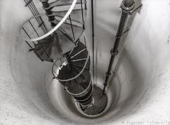 Spiral (henny vogelaar) Tags: netherlands kootwijk radiokootwijk architecture juliusluthman spiral staircase pumphouse depth fearofheights flickrbende