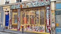 444 Paris en Février 2018 -rue Sainte-Marthe (paspog) Tags: paris france tags graffitis mural murals fresque fresques février februar february 2018 ruesaintmarthe