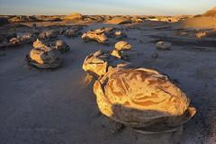 Cracked eggs (Chief Bwana) Tags: nm newmexico bisti bistibadlands crackedeggs geology concretions psa104 chiefbwana 500views