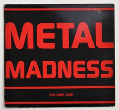 A0348 VA Various Artists Metal Madness Volume One - Periodic Review (vinylmeister) Tags: vinylrecords albumcoverphotos heavymetal thrashmetal deathmetal blackmetal vinyl schallplatte disque gramophone album
