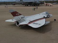 Douglas F-6A Skyray  134748 (jackmcgo210) Tags: pimaairspacemuseum tucsonarizona tucson arizona 2018 march