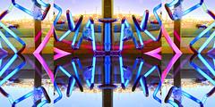 TakeOut (byzantiumbooks) Tags: flipped neon