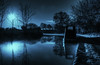 A Midnight Walk.. (Philip R Jones) Tags: canal moonlight fauxmoonlight bluemoon hss slider sliders