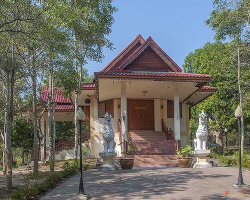 Wat Pa Neramit Mae Taeng Phra Wihan (DTHCM2049) วัดป่าเนรมิตแม่แตง พระวิหาร
