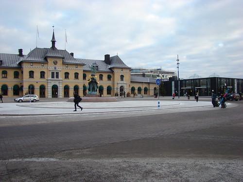 Вокзал в Уппсале