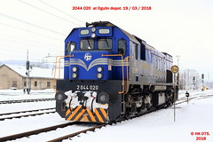 Hz_03_2018_002 (HK 075) Tags: hz hrvatska hk 075 croatia class railway 2062 2044 2063 2041 2132 1141 1142 željeznica yugoslavia balkans rail fanning