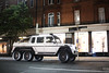 Saudi Summer. (TJHarrington) Tags: mercedes g63amg 6x6 londoncars supercarsoflondon car suv white saudiarabia sloanestreet 2016