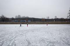 Finally skating!:) (Pavel Vanik) Tags: czechrepublic bohemia winter frost ponds frozen ice skatink hockey joy sport canon 5d 1635lis