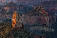 *Disappearing World* (Albert Wirtz @ Landscape and Nature Photography) Tags: grandcanyon northrim disappearingworld nature natur natura paesaggi paysages landscape usa unitedstates vereinigtestaaten arizona northarizona nationalpark grandcanyonnp grandcanyonnorthrim pointimperial sunrise sonnenaufgang goldenhour goldenestunde usasouthwest southwestusa südwestenderusa twilight albertwirtz firstrays erstesonnenstrahlen