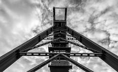 Erin (wpt1967) Tags: bergbau castroprauxel eos6d erinpark förderturm industriekultur nrw ruhrgebiet ruhrpott bw coalmining headgear mining sw wpt1967