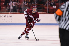 HockeyEastvNortheastern2-9 (dailycollegian) Tags: umass amherst university massachusetts matthews arean arena boston mass ice hockey loss east northeastern sikura george mika team celebrate jack suter oliver chau
